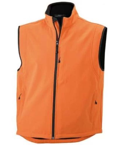Herren Softshell Weste - orange