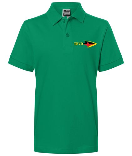 Kinder Polo-Shirt - Grün