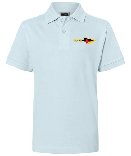 Kinder Polo-Shirt - Hellblau