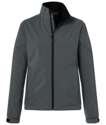 Damen Softshell Jacke - carbon