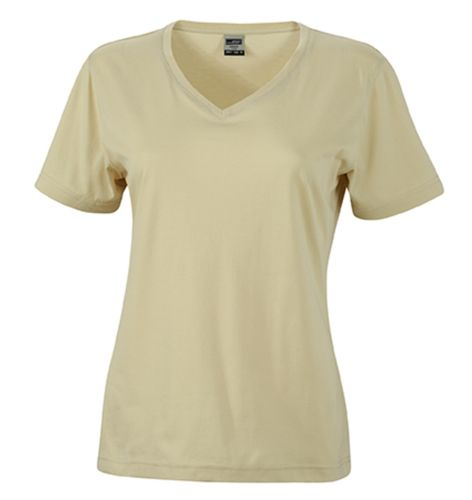 Damen Workwear T-Shirt - sand