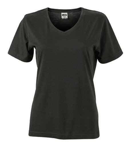 Damen Workwear T-Shirt - schwarz