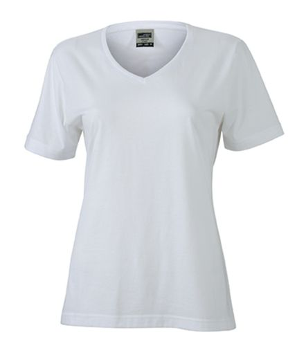 Damen Workwear T-Shirt - weiß