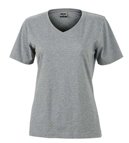 Damen Workwear T-Shirt - grau