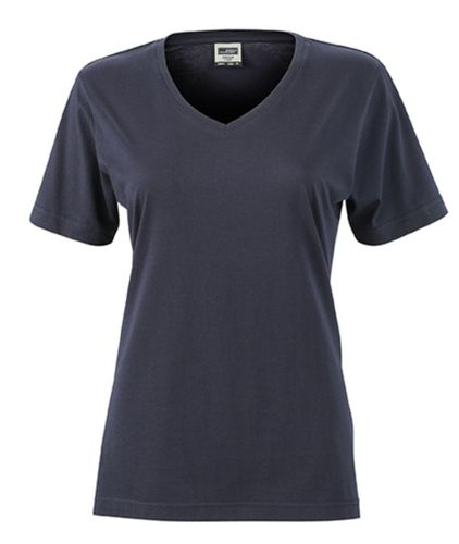 Damen Workwear T-Shirt - marine