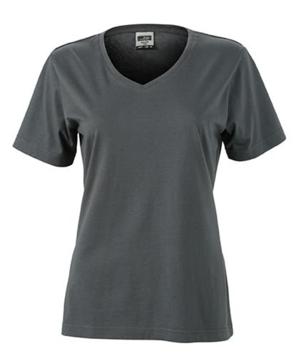 Damen Workwear T-Shirt - carbon