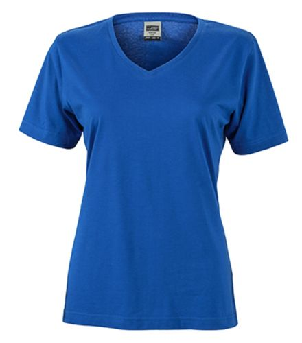Damen Workwear T-Shirt - royalblau